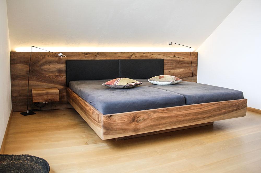 massivholzbett vom schreiner jonny b m belwerkstatt. Black Bedroom Furniture Sets. Home Design Ideas