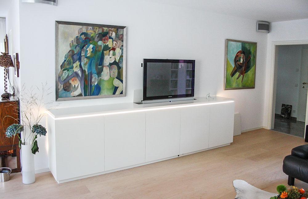 Sideboard Mit Tv Lift kommode aus massivholz – jonny b. möbelwerkstatt