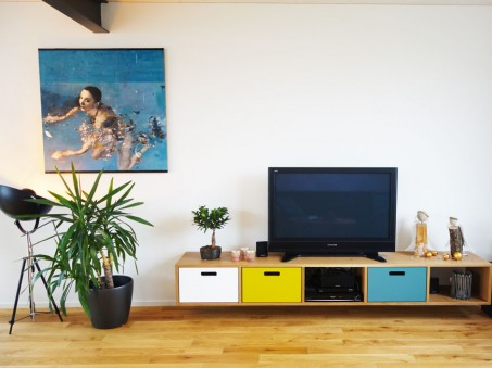 TV- Hangboard in Eiche