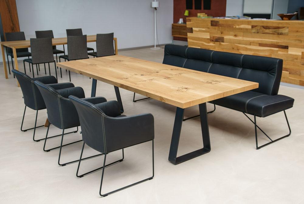 Moderner Esstisch esstisch loft style jonny b möbelwerkstatt